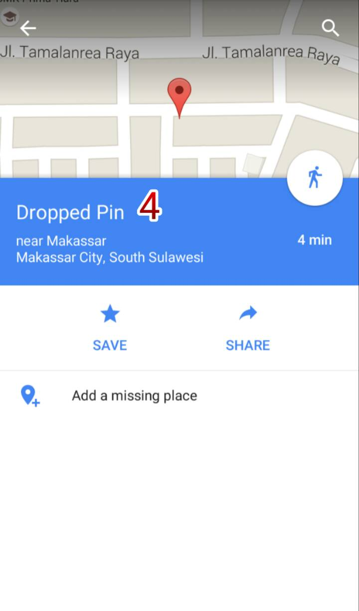 how to send a pin google maps iphone