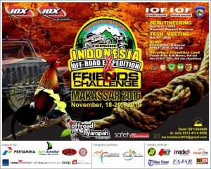 International Indonesia Off-road eXpedition and Friends Challenge Makassar 2016